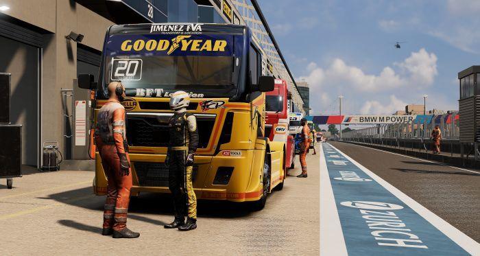 Bigben ha annunciato FIA European Truck Racing Championship, la simulazione di corse ufficiale dell'ETRC, sviluppata usando il KT Engine, motore grafi...