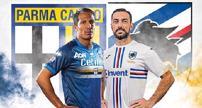 Parma-Samp, maglia celebrativa per il gemellaggio
