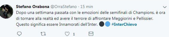 Ironia e auto-ironia del popolo nerazzurro