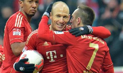 Robben e Ribery, foto Ap