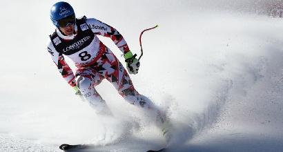 Sci, discesa Saalbach: vince Mayer, tris Austria