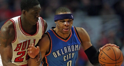 Nba: i Bulls fermano Westbrook
