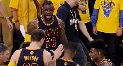 Finals Nba: LeBron James show, Cavs sull'1-1