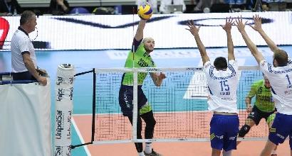 Volley, SuperLega: scivolone Trento, Modena e Verona in testa