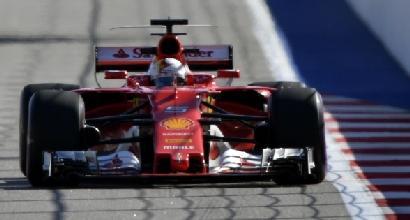 F1, GP Russia: Ferrari da urlo, la Mercedes rincorre