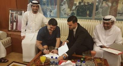 Maradona torna in panchina: tecnico del Fujairah negli Emirati Arabi