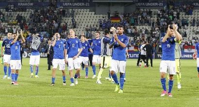 Europei Under 21: Spagna-Italia, in palio la finale