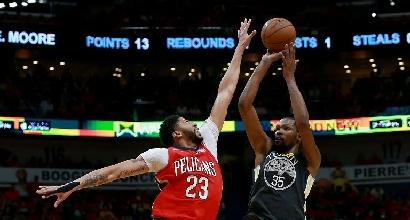 Nba, playoff: Golden State e Houston con un piede in finale di Conference