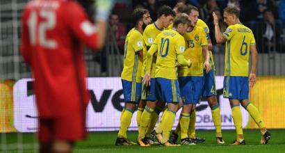 Russia 2018, i convocati della Svezia: Ibra non c'è