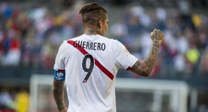 Perù, Tribunale Federale grazia Guerrero: giocherà i Mondiali