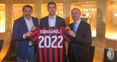Milan, rinnovo per Romagnoli