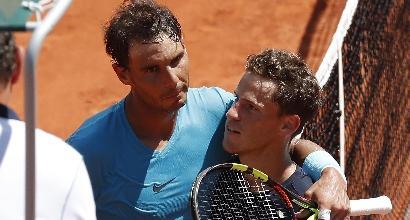 Quarti di finale Roland Garros. Nadal e Del Potro avanti, appuntamento in semifinale