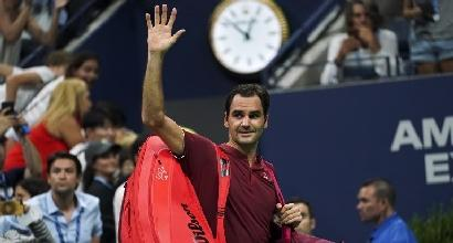 Tennis, Us Open: cadono Federer e la Sharapova