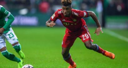 """Bayern Monaco, Coman: """"Se mi infortunio ancora mi ritiro"""""""