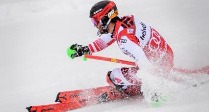 Sci: Hirscher mostruoso, ad Adelboden suo anche lo slalom