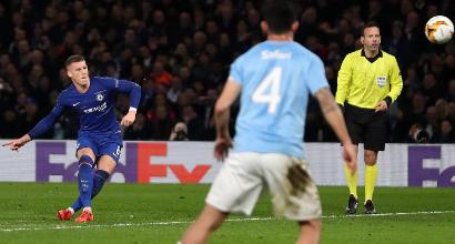 Europa League: Chelsea-Malmoe 3-0, Sarri agli ottavi in scioltezza
