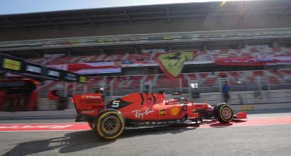 Formula 1, la carica di Vettel: