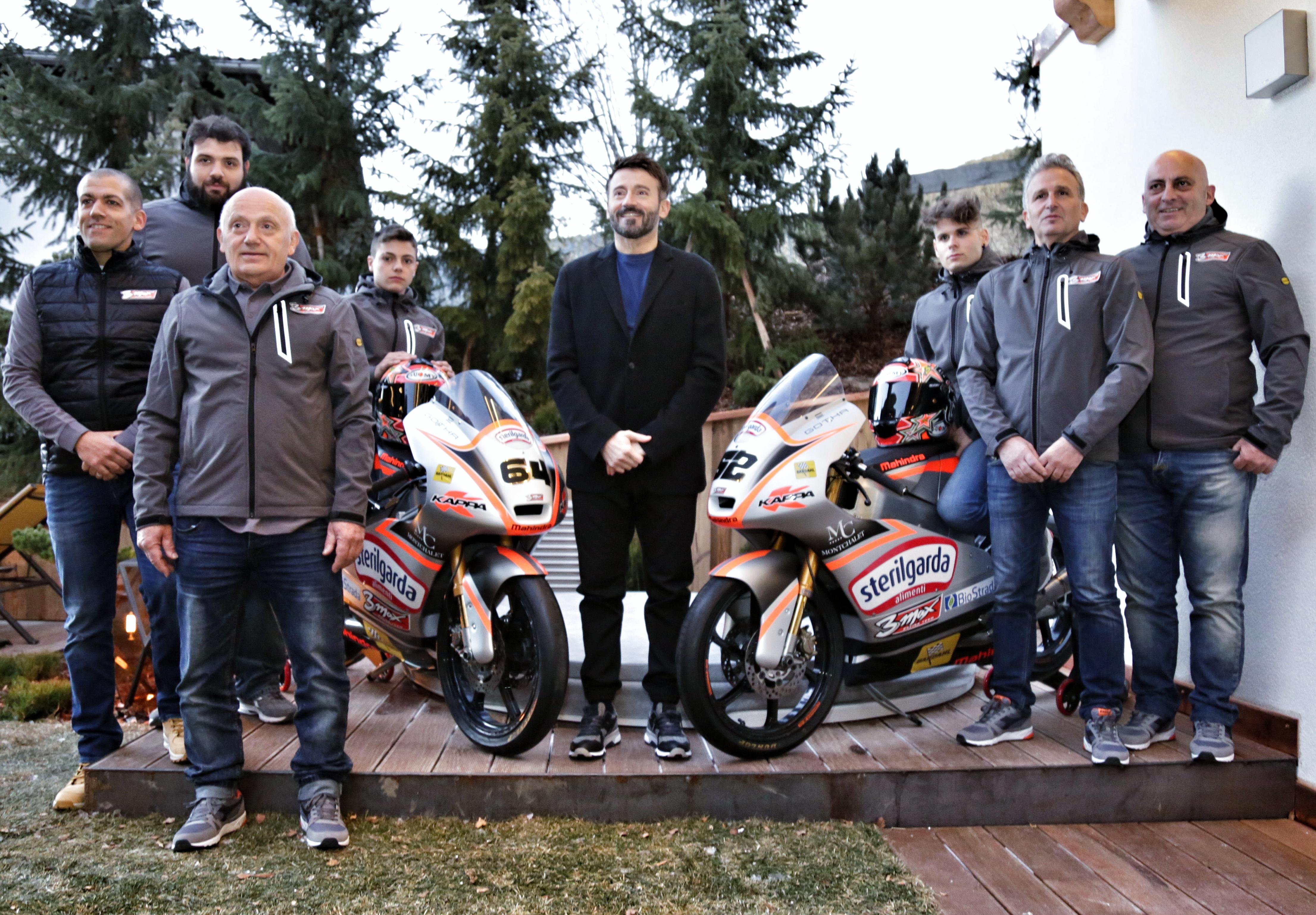 Moto3, Biaggi presenta il suo team