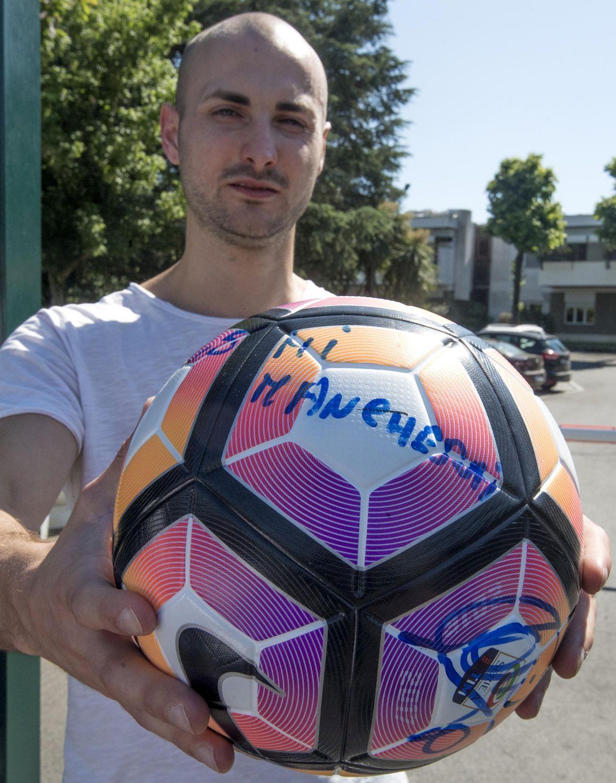 "Thomas Lintozzi: ""Il pallone di Totti ce l'ho io"""