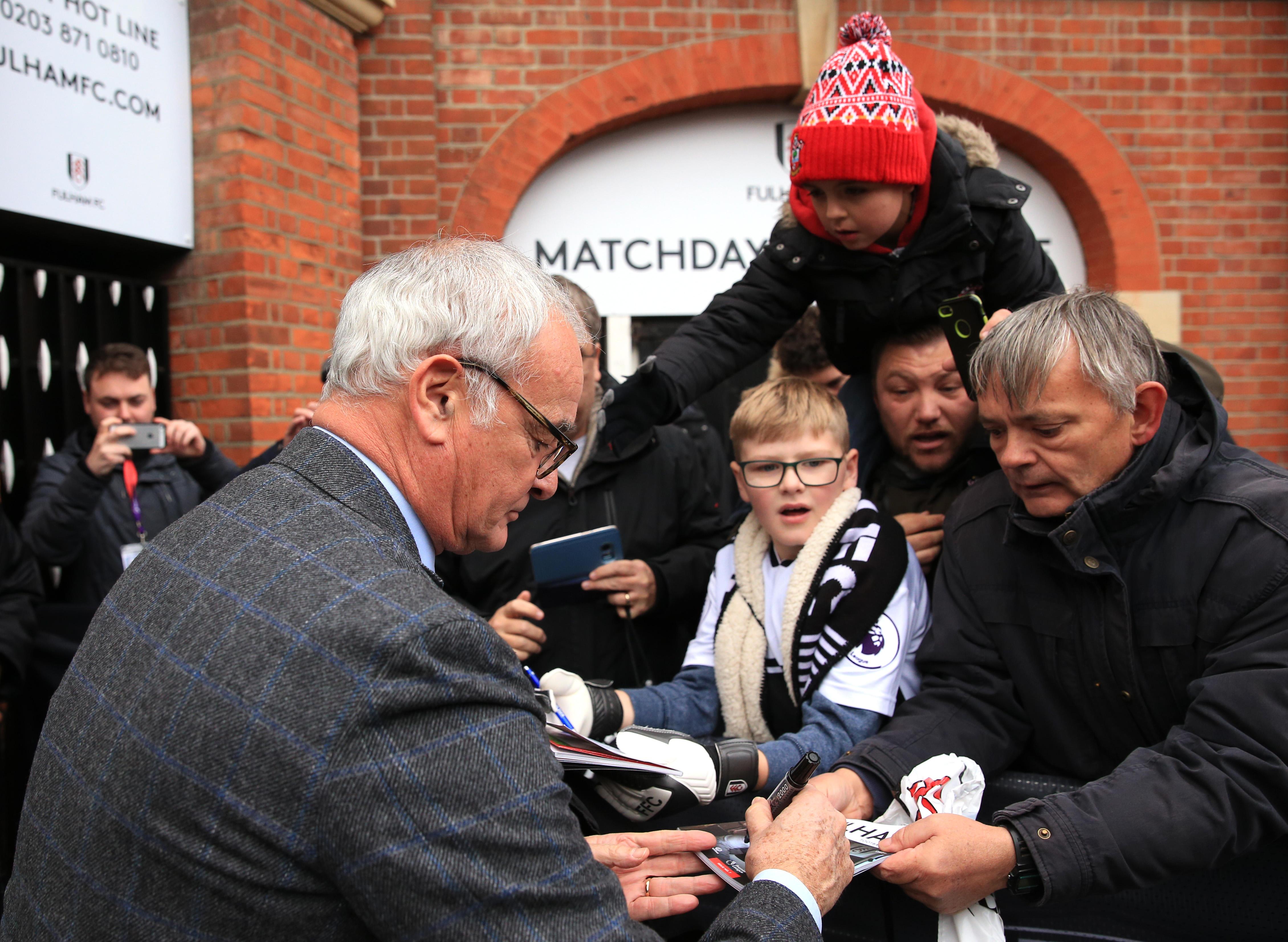 Premier League: esordio vincente per Ranieri col Fulham