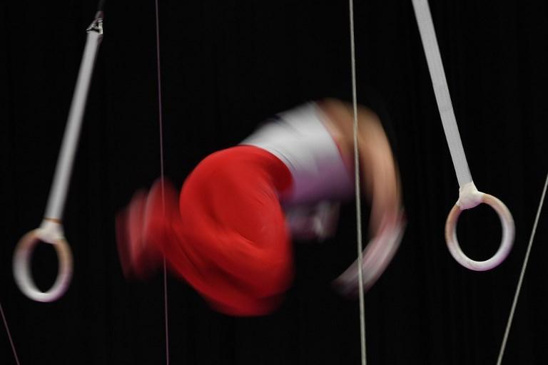 Lee Hyeok-jung agli anelli durante i Giochi Asiatici (22 agosto)