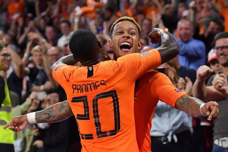 13 ottobre 2018: Nations League, Olanda-Germania 3-0