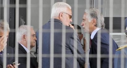 I presidenti Sesti e Malagò (LaPresse)
