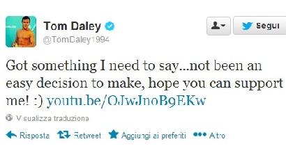 Tom Daley - Twitter
