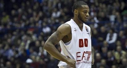 Basket: Milano, ufficiale la rescissione con Marquez Haynes