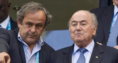 Fifa: avanti con l'inchiesta su Blatter, Platini e Beckenbauer
