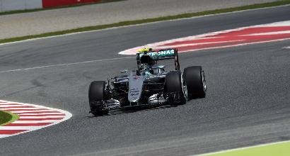 F1, libere 3 GP Spagna: Rosberg davanti a Hamilton e Vettel