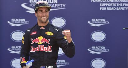 Ricciardo, foto Afp