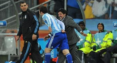 "Napoli, Maradona: ""Caro Higuain, hai sbagliato..."""