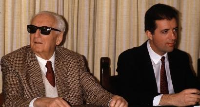 Enzo e Piero Ferrari (LaPresse)