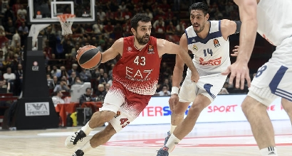 Basket, Eurolega: Milano cade al Forum, il Real Madrid vince 101-90