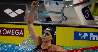 Nuoto, Mondiali in vasca corta: oro per la Pellegrini nei 200 sl