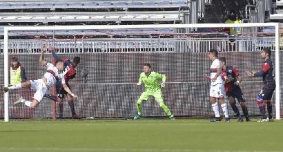 Cagliari-Genoa, le formazioni ufficiali: Borriello titolare, Sau in panchina