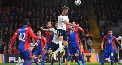 Crystal Palace-Tottenham, foto AFP