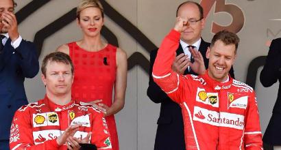 Raikkonen-Vettel, AFP
