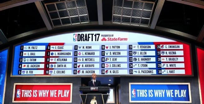 Nba, Draft 2017: Fultz ai 76ers