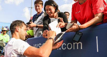 Tennis,Dimitrov vince grazie a Rafa