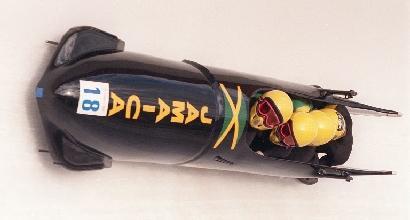 il bob giamaicano a Calgary '88