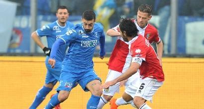 Serie B: prove di fuga per l'Empoli, Palermo ko al 92'