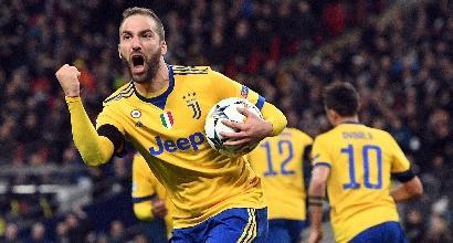 """Juve, Higuain: """"Bellissimo vincere a Wembley"""""""