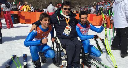 Paralimpiadi 2018, Bertagnolli fa il bis: argento in SuperG