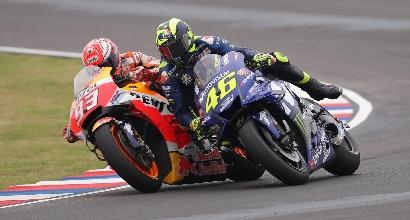 """MotoGP, Rossi: """"La nostra Yamaha M1 migliora"""""""
