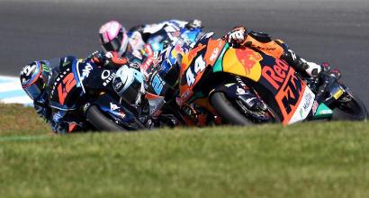 Moto2: Bagnaia spreca il primo match point Mondiale