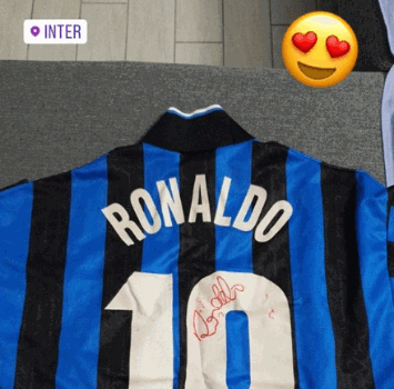 Keita, regalo da Fenomeno: ecco la maglia di Ronaldo