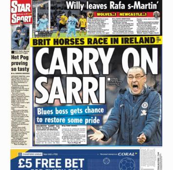 Chelsea, fiducia a tempo a Sarri. Intanto la squadra lo mette sotto accusa
