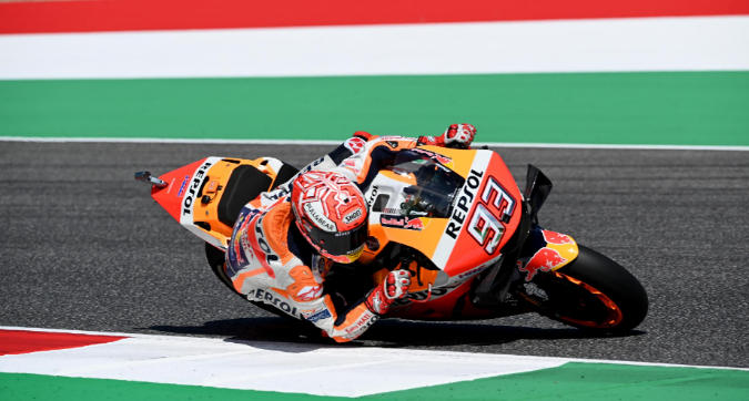 MotoGP, Marquez in pole al Mugello